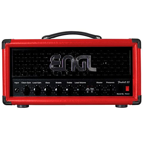 Cabezal guitarra Engl Fireball 25 E633SR Red Edition