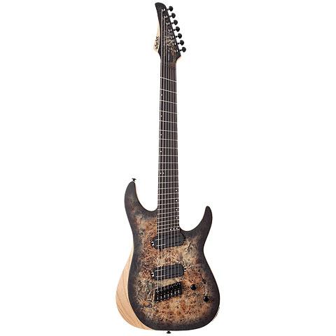 Schecter Reaper-7 Multiscale SCB « E-Gitarre