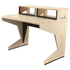 Sessiondesk Home Small with 2 Racks « Table pour console