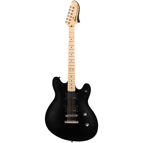 Squier Contemporary Active Starcaster FLT BLK « Guitare électrique
