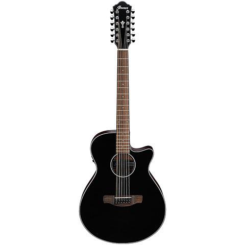 Guitarra acústica Ibanez AEG5012-BKH