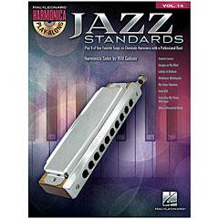 Hal Leonard Harmonica Play-Along Vol.14 - Jazz Standards « Play-Along