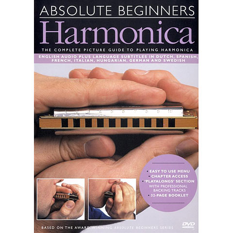 DVD Music Sales Absolute Beginners - Harmonica (DVD)