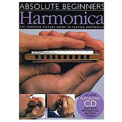 Music Sales Absolute Beginners - Harmonica « Lehrbuch