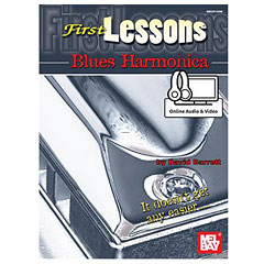 MelBay First Lessons Blues Harmonica