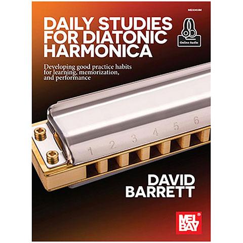 Libros didácticos MelBay Daily Studies for Diatonic Harmonica