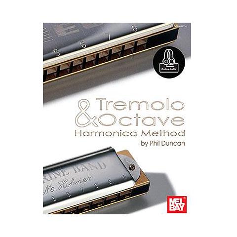 Libros didácticos MelBay Tremolo And Octave Harmonica Method