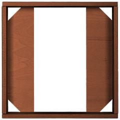 Hofa Frame 1 Module brown « Digital Accessories