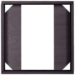 Hofa Frame 1 Module black « Accesorios diversos