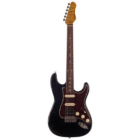 Haar Traditional S aged, Black « Guitarra eléctrica