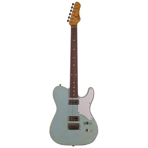 Haar Traditional T aged Sonic Blue « Guitare électrique