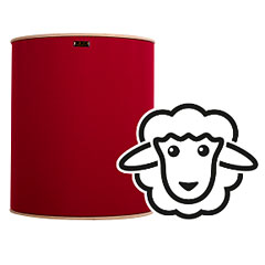 Hofa Baby Basstrap natural bordeaux « Acoustic Panels