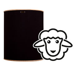 Hofa Baby Basstrap natural black « Acoustic Panels