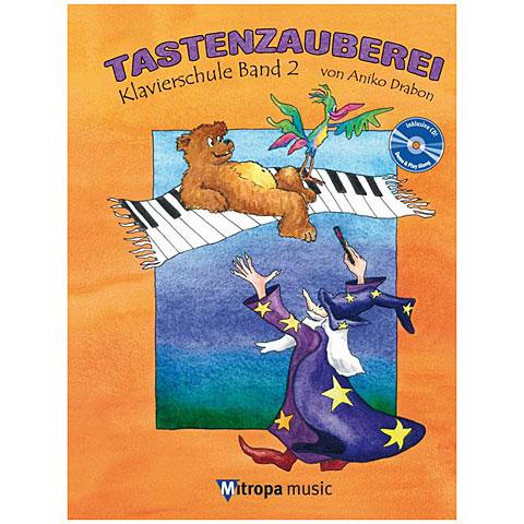 Libros didácticos Mitropa music Tastenzauberei Band 2 (+CD)