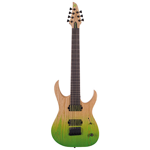 Mayones Duvell Q 7 Summer Moss « Electric Guitar