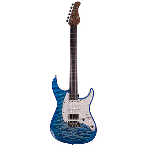 Guitare électrique Mayones Aquila Elite 6 QM 2TBB