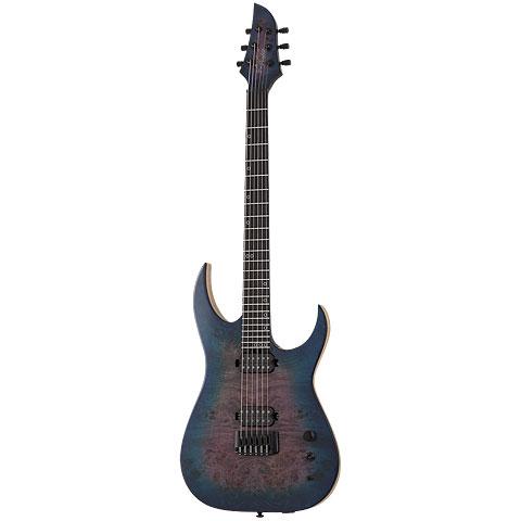 Schecter Keith Merrow KM-6 MK-III Artist Blue Crimson « E-Gitarre