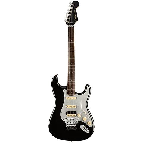 Fender American Ultra Luxe Stratocaster RW HSS FR MBK « Guitarra eléctrica