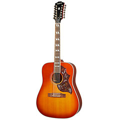 Epiphone Hummingbird 12-String Aged Cherry Sunburst Gloss « Westerngitarre