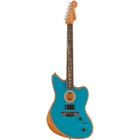 Fender Acoustasonic Jazzmaster Ocean Turquoise « E-Gitarre