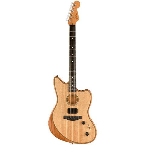 Fender Acoustasonic Jazzmaster Natural « E-Gitarre