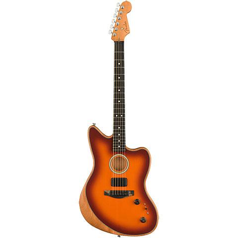 Fender Acoustasonic Jazzmaster Tobacco Sunburst « E-Gitarre