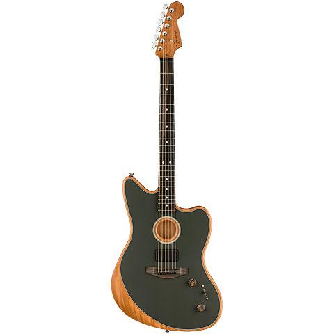 Fender Acoustasonic Jazzmaster Tungsten « E-Gitarre