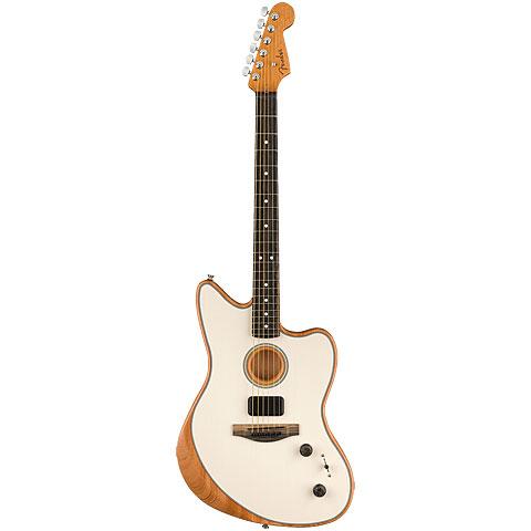 Fender Acoustasonic Jazzmaster Arctic White « E-Gitarre