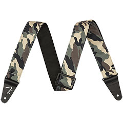 "Fender 2"" Camo Strap Woodland « Sangle guitare/basse"