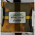 Caisse claire Sonor Benny Greb Signature Brass Snare 2.0 with Sticks
