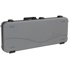 Fender Deluxe Molded Case – Strat/Tele Silver/Blue « Etui guitare électrique