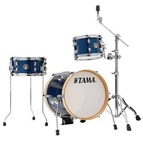 "Schlagzeug Tama Club Jam LJK36S-ISP Suitcase Kit 16"" Indigo Sparkle Shellset"