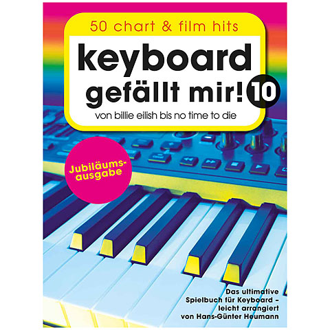 Notenbuch Bosworth Keyboard gefällt mir! Band 10