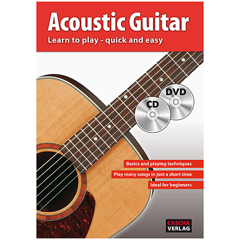 Lehrbuch Cascha Acoustic Guitar - Learn to play quick and easy
