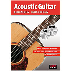 Cascha Acoustic Guitar - Learn to play quick and easy « Libros didácticos