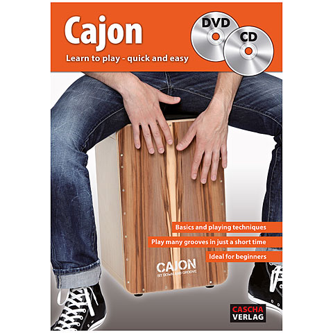 Libros didácticos Cascha Cajon - Learn to play quick and easy