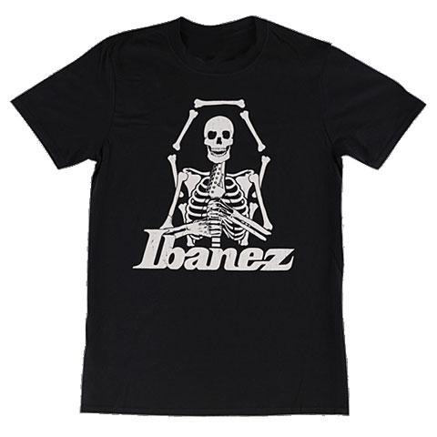 Camiseta manga corta Ibanez Skull Black XXL