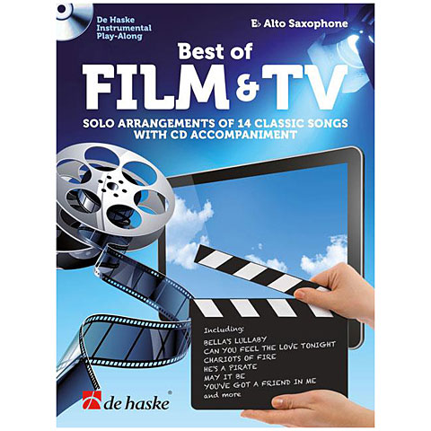 Recueil de Partitions De Haske Best of Film & TV (Alto Sax)