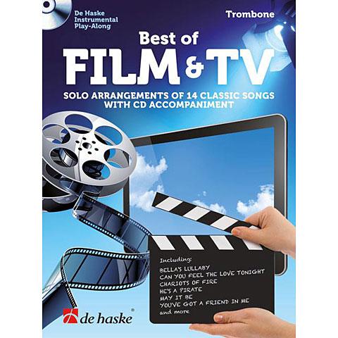 Notenbuch De Haske Best of Film & TV (Trombone)