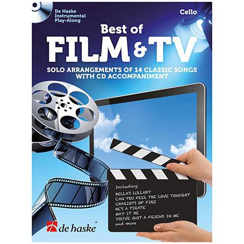 Notenbuch De Haske Best of Film & TV (Cello)
