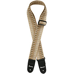 Ibanez GSB-50-C4 Braided Guitar Strap Khaki « Correas guitarra/bajo