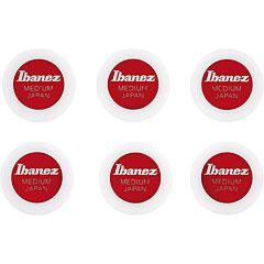 Ibanez Round Pick PPA1M-BK White 0,8 mm « Médiators