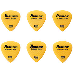 Ibanez Flat Pick Rubber Grip Yellow 1 mm « Médiators