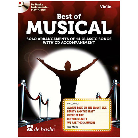 Notenbuch De Haske Best of Musical (Violin)
