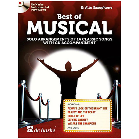 Notenbuch De Haske Best of Musical (Alto Sax)