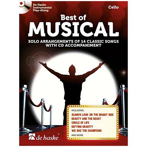 Notenbuch De Haske Best of Musical (Cello)