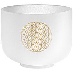 """Meinl Sonic Energy CSB8FOL Crystal Singing Bowl 8"""" Flower of Life"""