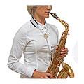 Sangle instr. à vent BG S28JMSH Saxophone Strap White