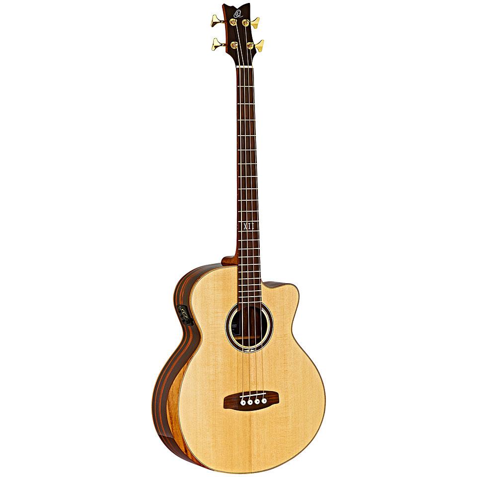 Akustikbass - Ortega STRIPEDSU.ACB Akustikbass - Onlineshop Musik Produktiv