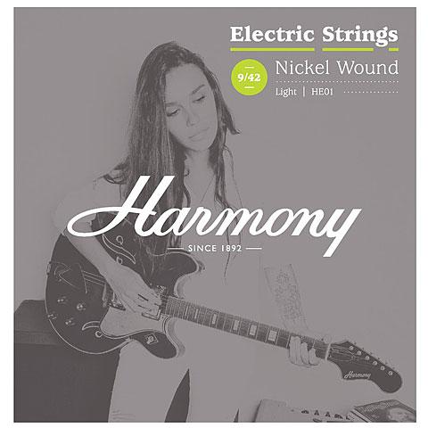 Saiten E-Gitarre Harmony HE01 Nickel 009-042
